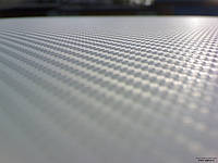 Пленка карбон 3D CF белый с микроканалами 100х152 см.