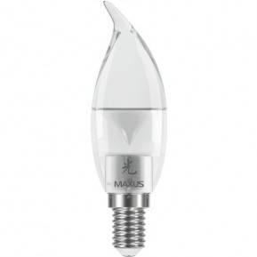 Лампа MAXUS С28 CT-C 3W 3000K 220V E14 P, фото 2