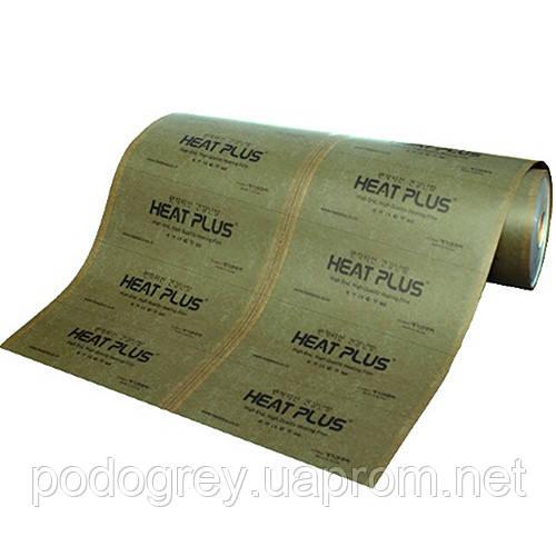 Сплошная нагревательная пленка Heat plus APN -410 220 Khaki
