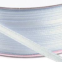Лента атласная голубой 3 мм