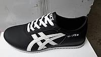 Мужские кроссовки Asics из натуральной кожи