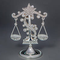 "Знаки зодиака ""Весы"" 11,5 см статуэтки из металла"