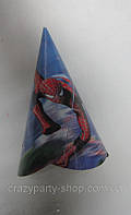 Колпак на голову праздничный Спайдермен