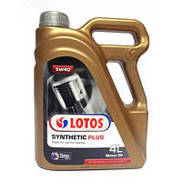Масло Lotos SYNTHETIC PLUS 5w40 4л