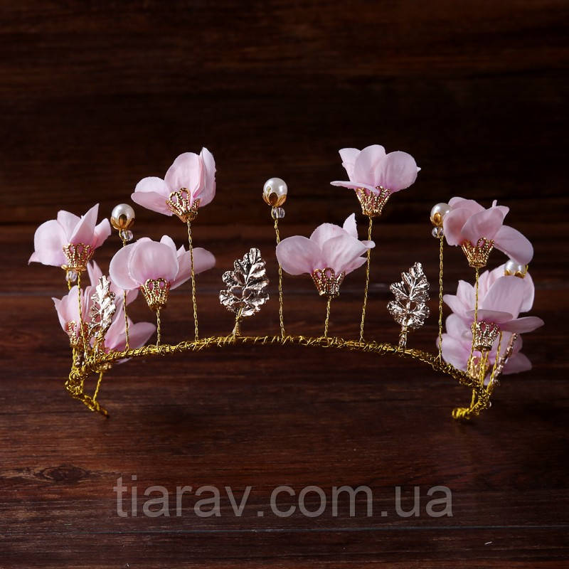 Тіара діадема і сережки набір Лаура корона для волосся Тіара Вікторія весільна прикраси тіари