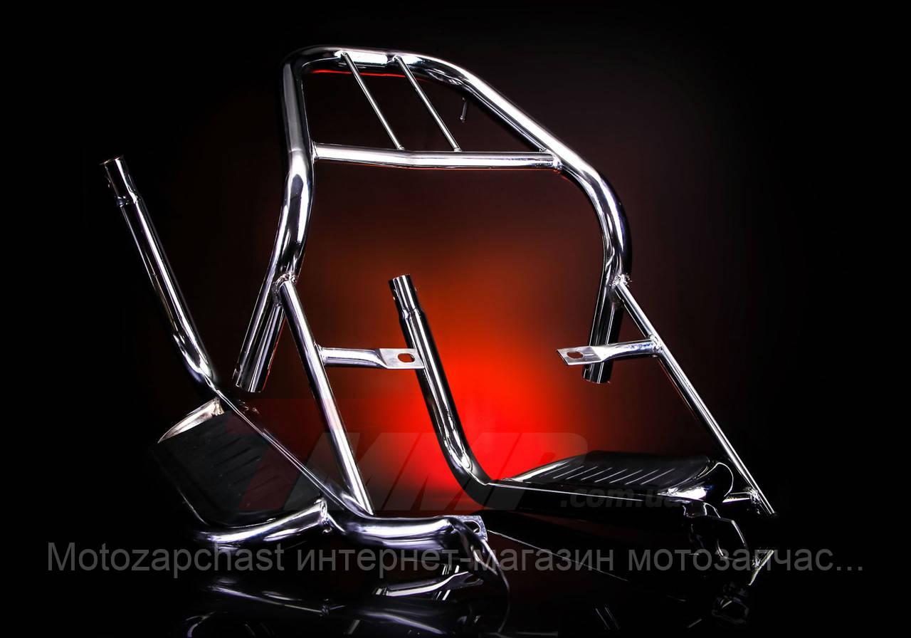 Багажник Актив с подножками