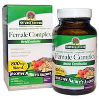 Женские травы при климаксе и менопаузе Nature's Answer, Female Complex 90 капсул