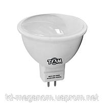 Світлодіодна LED лампа ТДМ MR16-5W 220v