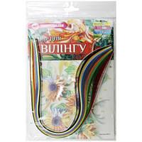 Набор для творчества, полоски для квиллинга НК-3, 10 цветов