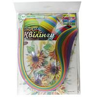 Набор для творчества, полоски для квиллинга НК-7, 6 цветов