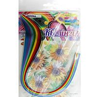 Набор для творчества, полоски для квиллинга НК-4, 7 цветов