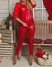 """Стильный женский костюм """"Бубновый Валет"""" лосины и свитшот, фото 2"""