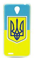 Накладка Flag and Gerb of Ukraine Lenovo S856