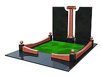 Памятник для двоих из гранита М81