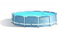 Бассейн каркасный круглый Intex 28710 (28210)  366х76 см