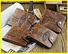Кожаный мужской кошелек Bailini + Подарок!