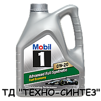 Моторное масло Mobil 1 0W-20 (4л)