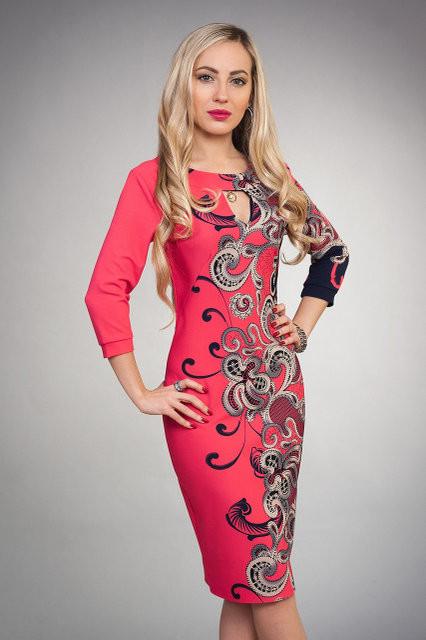 59ae2d247668e45 Красивое платье больших размеров из трикотажа-кукурузы: продажа ...