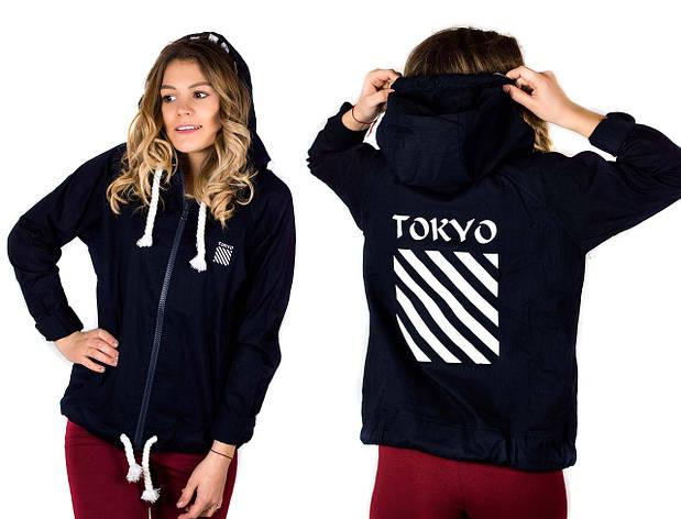 Женская куртка TOKYO 17510 черного цвета, фото 2
