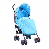 """Детская Прогулочная коляска-трость Babyhit """"Чудо"""" с амортизацией, тормозами, антимоскитной сеткой, ремнями"""