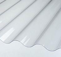 Прозрачный шифер Волнопласт 2*20 м. Опал (волновой)