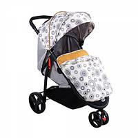 """Детская Прогулочная коляска-трость Babyhit """"Тринити"""" с амортизацией, тормозами, антимоскитной сеткой, ремнями"""