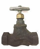 Вентиль для воды 15кч18п Ду 20 муфтовый