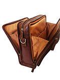 Сумка для ноутбука из натуральной кожи Катана 31044., фото 3