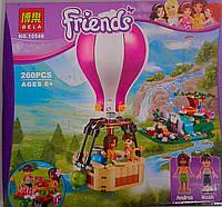 Конструктор Пластмассовый Friends 260 дет. 10546 Bela Китай