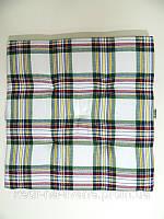 Подушка на стул квадрат (подушка сидушка для стулья, кресла, табурет)