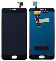 Дисплей (экран) для телефона Meizu M3 + Touchscreen Black