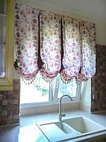 Цветочные лондонские шторы
