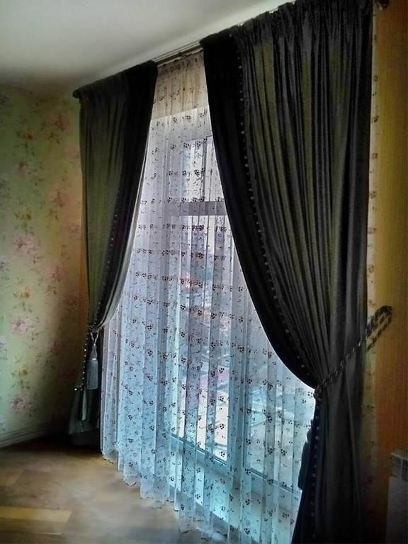 Шторы для частного дома в п. Белогородка