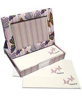Фоторамка - диспенсер 9х13см FrameNote, с блоком бумаги для заметок «Бабочки»