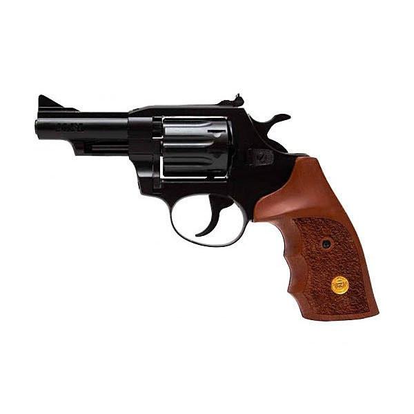 Револьвер флобера Alfa mod. 431 4 мм ворон/дерево