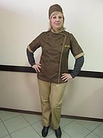 Униформа для повара: китель, брюки, фартук