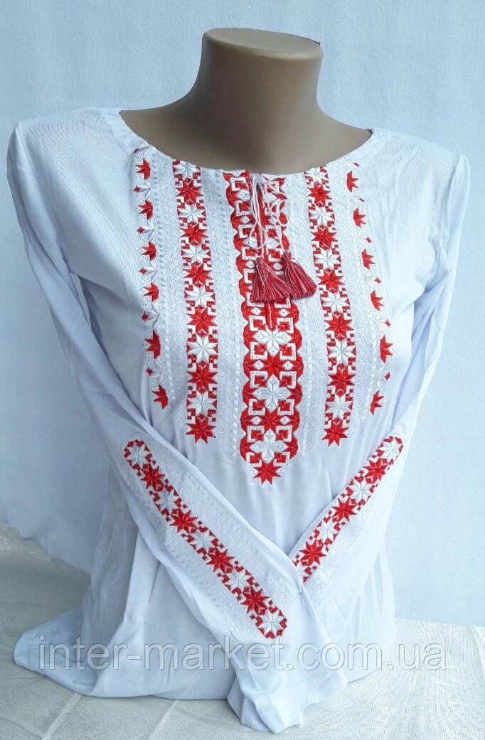 Вышиванка женская орнамент