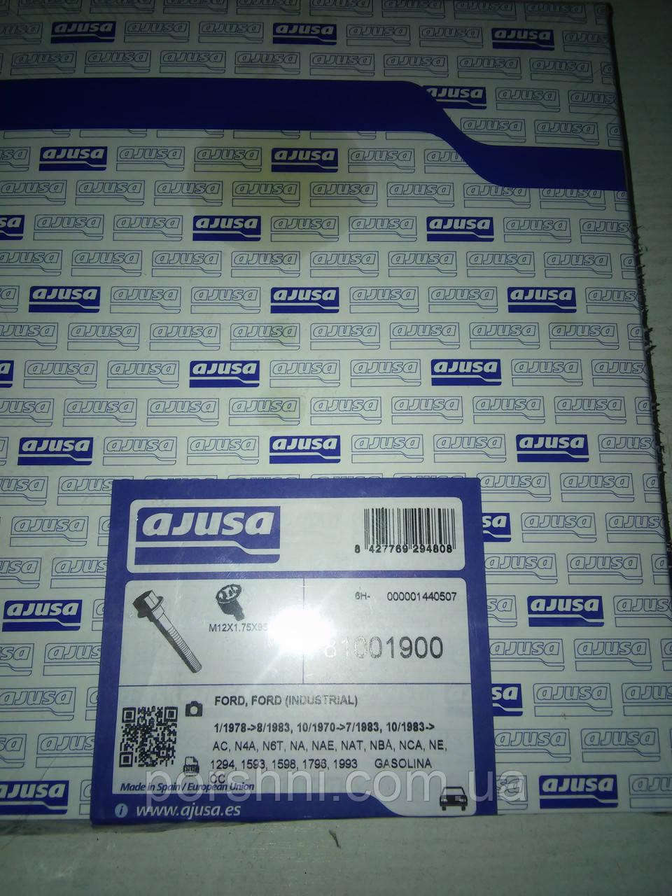 Болты  головки блока Ford Sierra Scorpio  ОНС    AJUSA  81001900