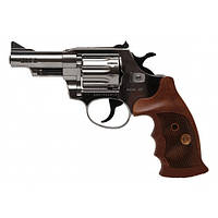 Револьвер флобера Alfa mod. 431 4 мм никель/дерево