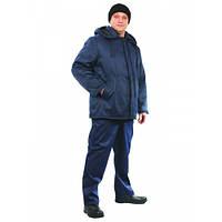 Куртка зимняя Оптима синяя 60-62