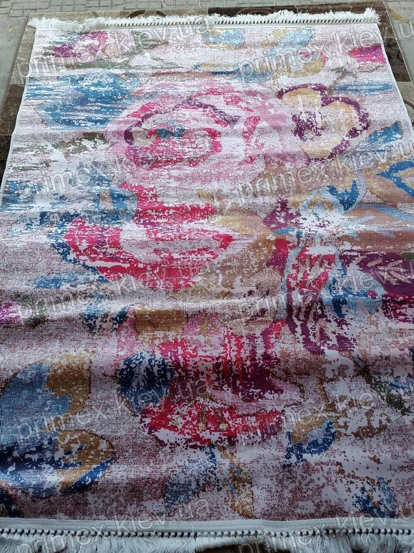 Ковер Latex Frida, цвет малиново-синий