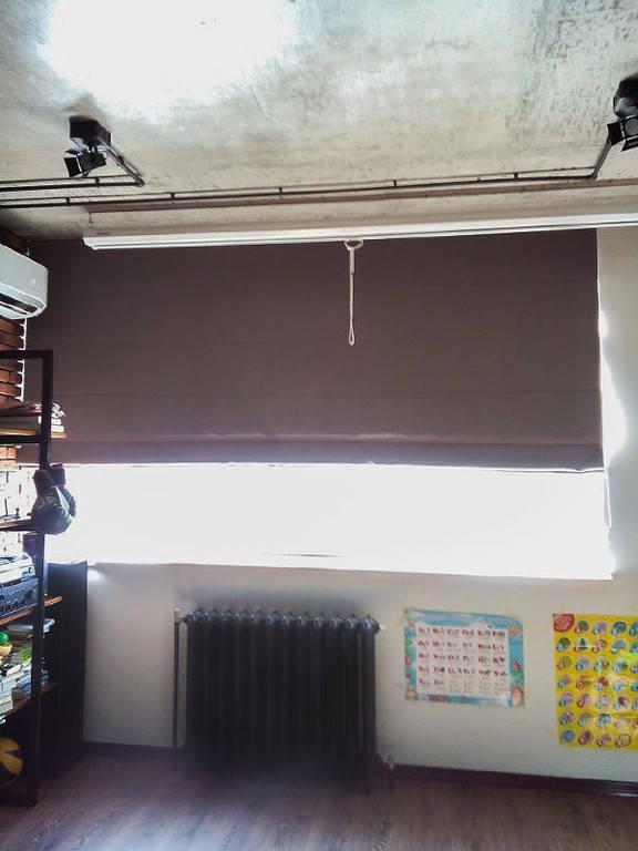 Римские шторы в домашний кинозал