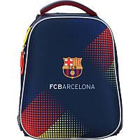 Рюкзак школьный каркасный (ранец) 531 FC Barcelona BC17-531M