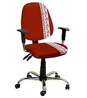 Кресло Бридж Хром Дизайн Украинский Стиль №3