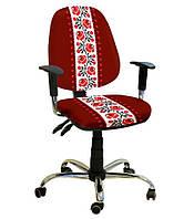 Кресло Бридж Хром Дизайн Украинский Стиль №6