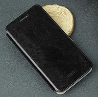 Кожаный чехол книжка MOFI Lenovo A8 A806 A808T черный