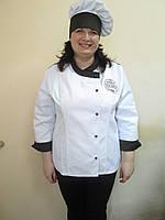 Куртка поварская, униформа для работников кухни