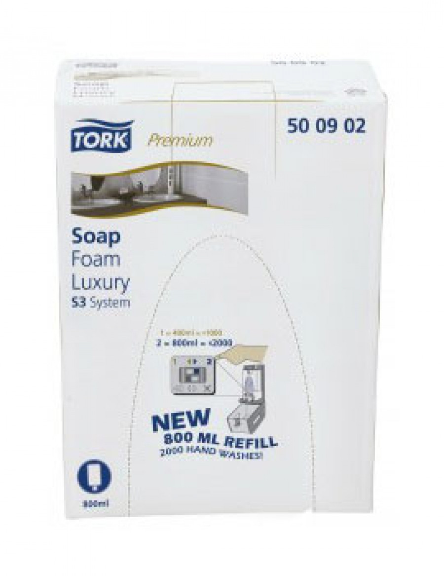Жидкое мыло-пена картридж Tork Premium Luxury