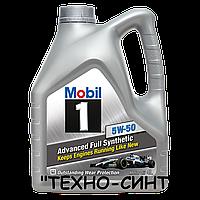 Моторное масло Mobil 1 5W-50 (4л)