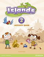 Islands 2 Activity Book с пин-кодом
